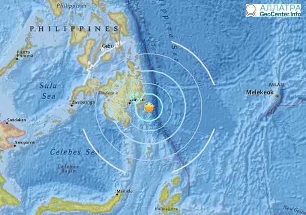 Землетрясение на Филиппинах, апрель 2018
