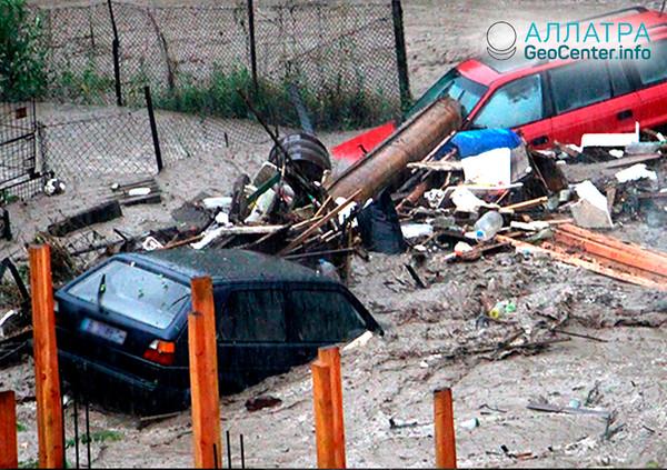 Наводнение в Болгарии, июль 2018 г.