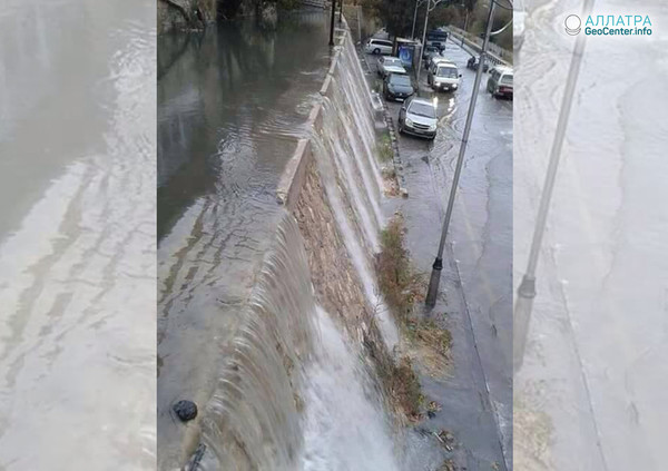Наводнение в Дамаске (Сирия), октябрь 2018 г.