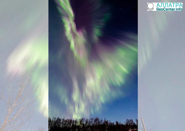 Геомагнитная буря и полярные сияния, 4-5 марта 2018 года