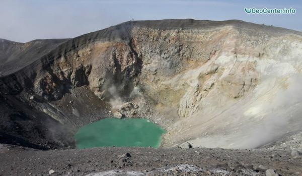 На вулкане Эбеко произошел бандайский тип извержения