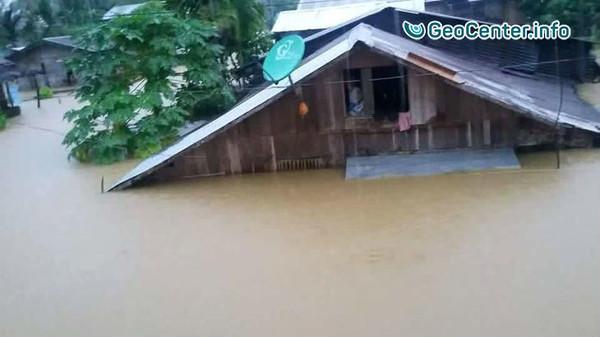 Внезапное наводнение на Филиппинах