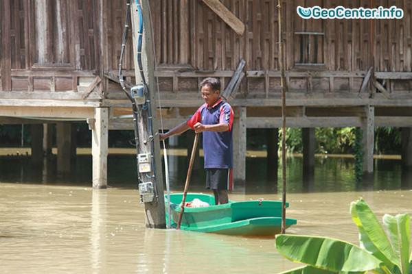 Наводнение в  Таиланде октябрь 2016 года