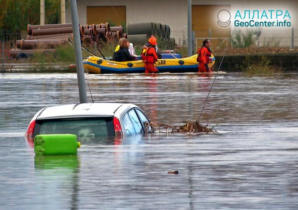 Наводнение в Италии, октябрь 2018