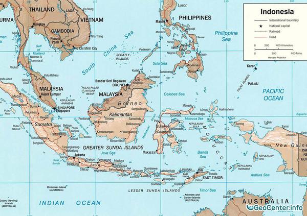 Землетрясение возле Суматры, Индонезия, 13 января 2018 года