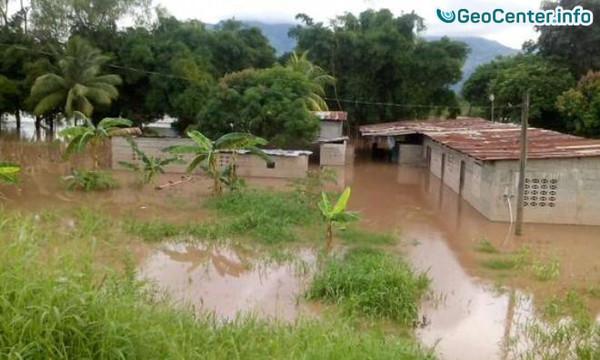 Ливни вызвали наводнения и оползни на юге Гондураса