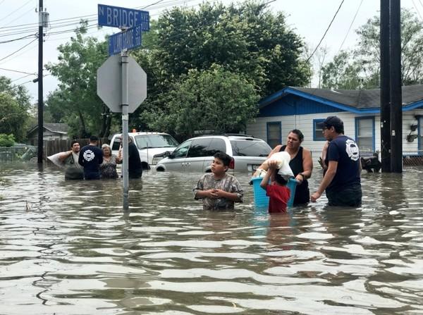 Наводнения в США продолжаются, июнь 2018 г.
