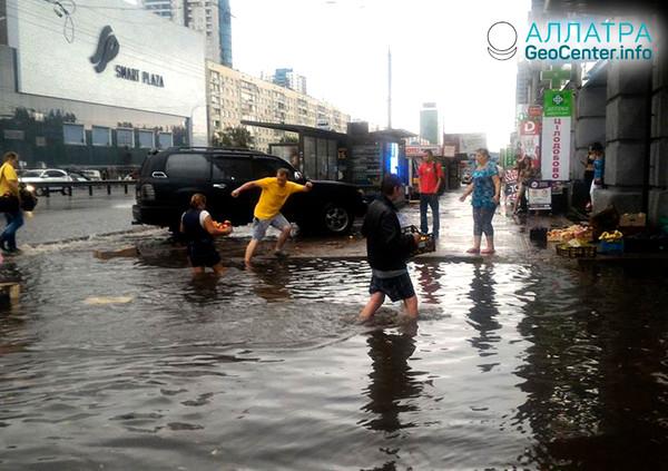 Потоп в Киеве, июль 2018