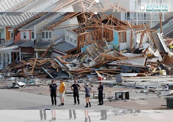 """Ураган """"Майкл"""" на юго-востоке США, октябрь 2018 года"""