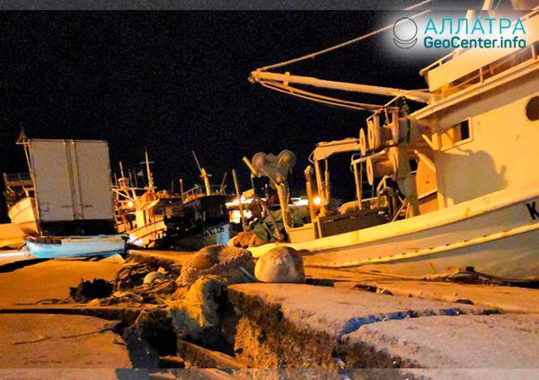 Мощное землетрясение в Греции в ночь на 26 октября 2018 г.