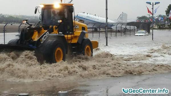 Проливные дожди в Эйлате (Израиль) стали причиной наводнения