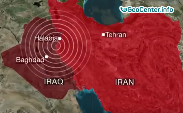 Мощное землетрясение на границе Ирака и Ирана. 13 ноября 2017