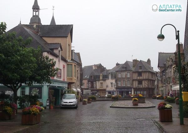 Шторм во французском регионе Бретань, июнь 2018 г.