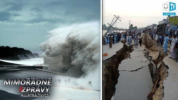 4 MILIÓNY LIDÍ BYLY EVAKUOVÁNY → Tajfuny Hagibis a Mitag → Japonsko, Korea. Požáry → USA.