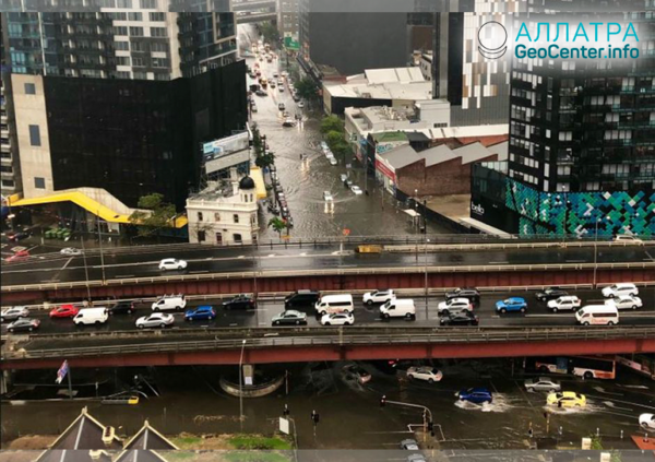 Наводнение в Австралии, ноябрь 2018 г.
