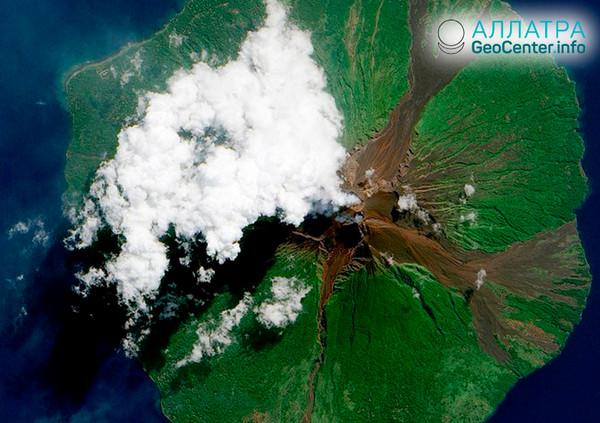 Последствия извержения вулкана в Папуа-Новой Гвинее, август 2018