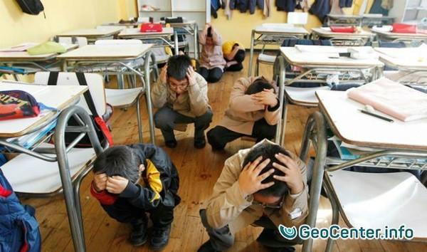 Землетрясение в Японии магнитудой 5,4