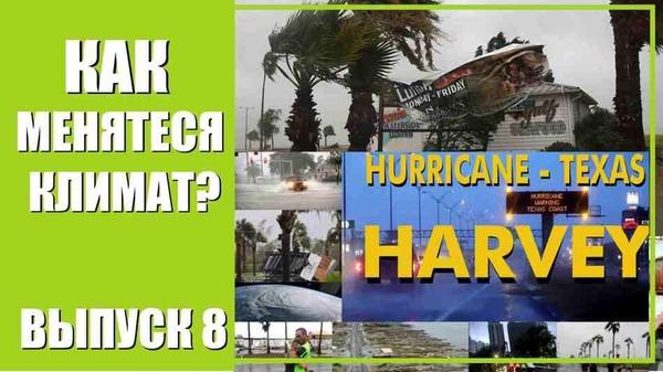 """Почему меняется климат? Ураган «Харви», """"Франклин"""", тайфуна """"Нори». Август 2017. Выпуск 8"""