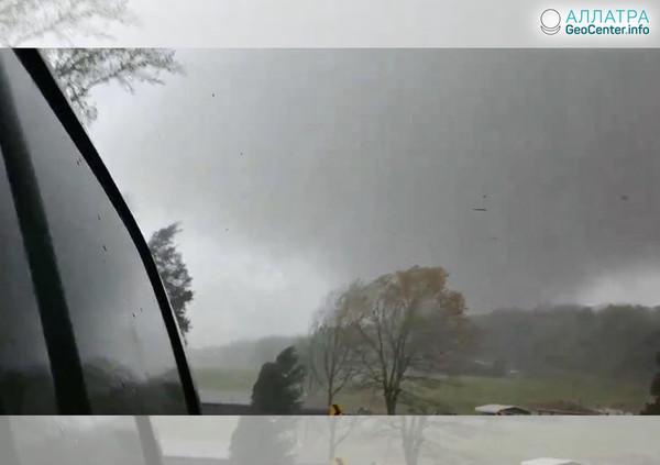 Торнадо в Арканзасе (США), апрель 2018 г.