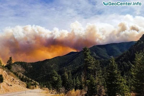 Пожар в штате Колорадо (США)