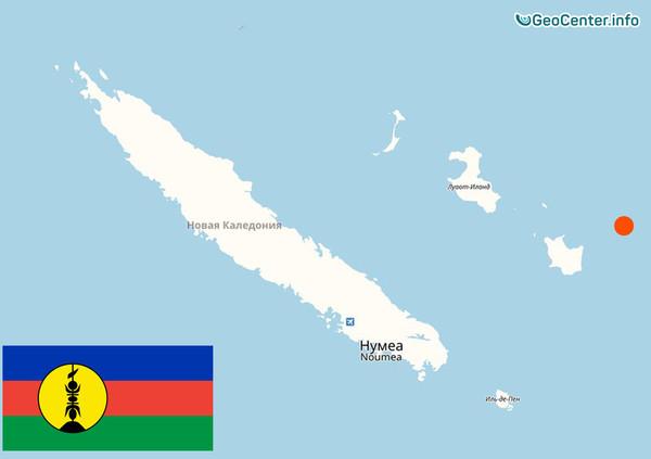 Серия крупных землетрясений на островах Лоялти, Новая Каледония, 19-21 ноября