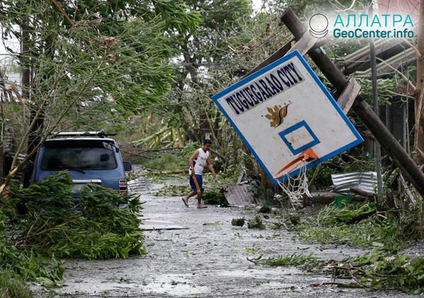 Тайфун Мангхут в Филиппинах, сентябрь 2018