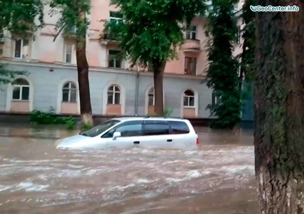 Град и наводнение в Башкирии, Россия