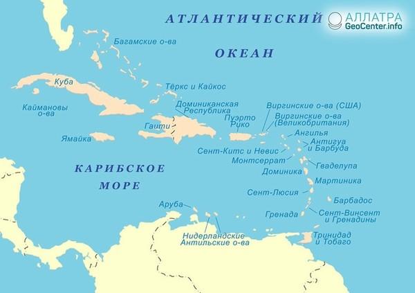 Антильские острова пережили землетрясение магнитудой 6,3, сентябрь 2018 г.