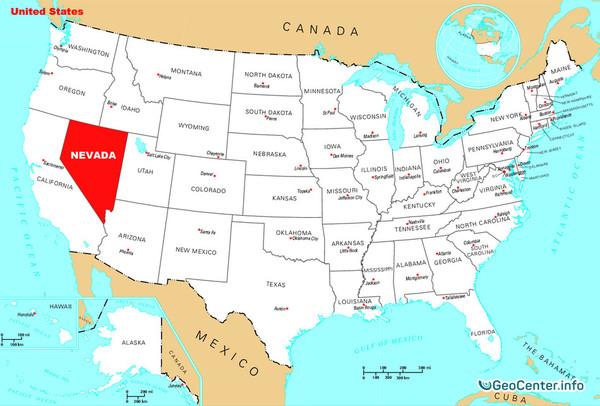 Граница Невады и Калифорнии содрогнулась более 150 раз