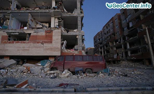 Землетрясение на границе Ирана и Ирака - причины и последствия.