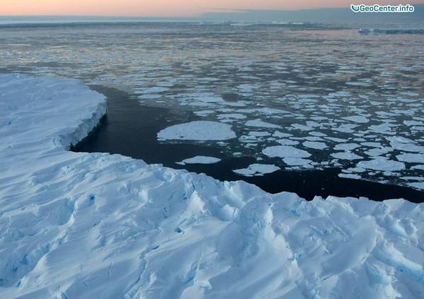 Новости об отколовшемся айсберге, Антарктида, декабрь 2017 года