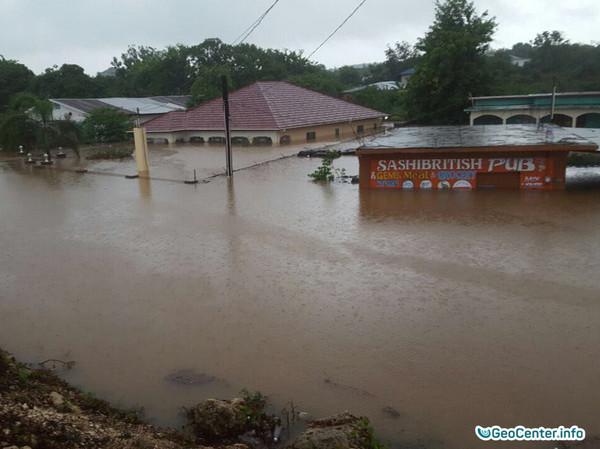 Наводнения на юге Ямайки в апреле 2017 года