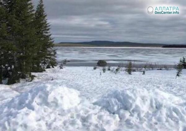 Зимние пейзажи в Канаде, июнь 2018 года