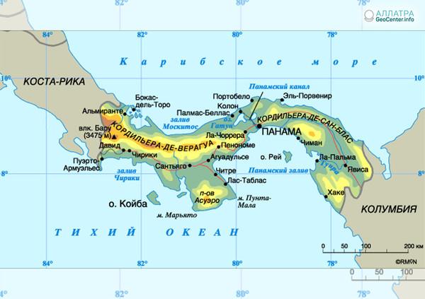 К югу от Панамы произошло два землетрясения, 18 мая 2018 года
