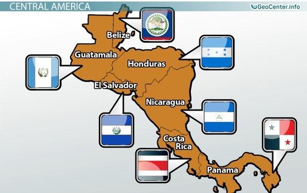 Взрывы на двух вулканах в Центральной Америке