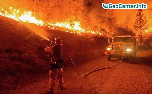 Катастрофические пожары в Калифорнии.Что произошло на нашей Планете 7 декабря 2017.