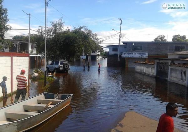 Наводнения в Венесуэле, август 2018 г.