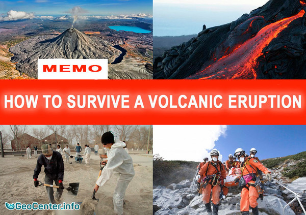 How to survive a volcanic eruption. MEMO