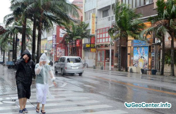 На юг Китая обрушился тайфун Хато, август 2017 года