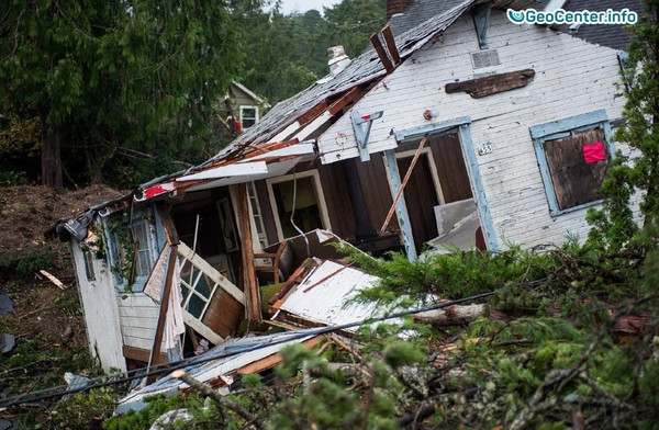 Торнадо пронёсся в штате Орегон (США) 14 октября 2016