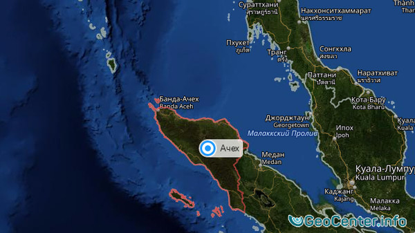Землетрясения в Индонезии 15-16 февраля