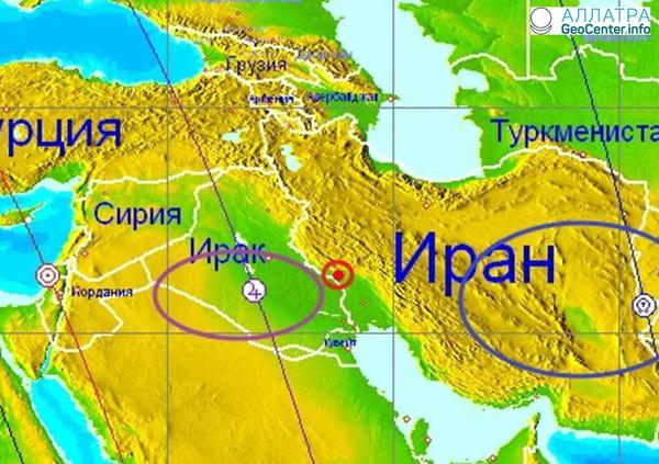 Землетрясение на границе Ирака и Ирана, 2 апреля 2018 года