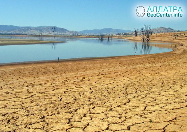 Засуха в Австралии, октябрь 2018