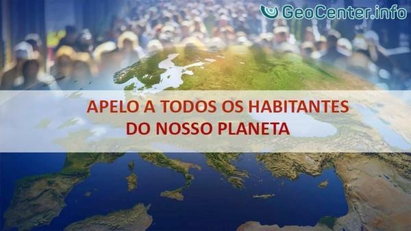 Apelo a todos os habitantes do nosso planeta