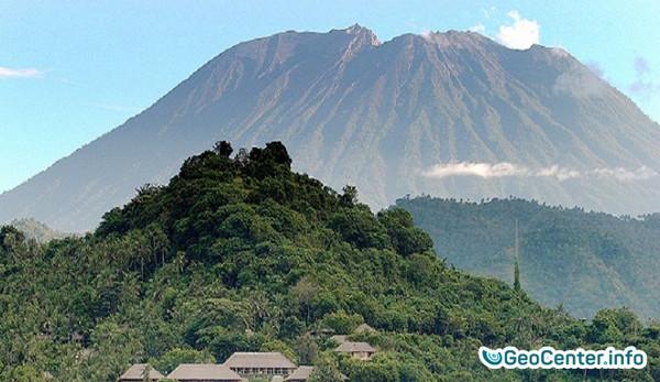 Лахары Агунга. Извержение вулкана Агунг. Бали 29 ноября 2017 года