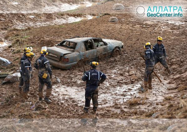 Наводнение в Иордании, ноябрь 2018 г.