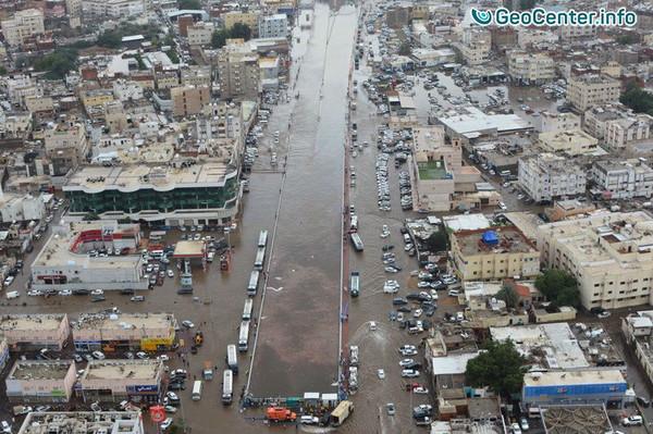 Потоп в Саудовской Аравии, ноябрь 2017