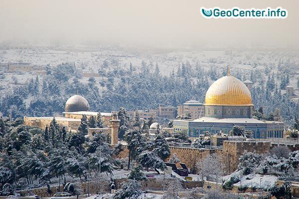 Израиль. Израильская зима
