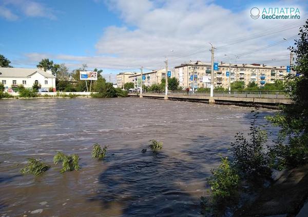Катастрофическое наводнение в Чите, Забайкальский край, июль 2018 года