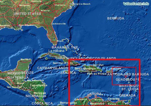 Землетрясение в Карибском море, 30 декабря 2017 года